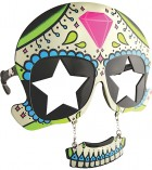 Sunstache Sugar Skull Eye Glasses Adult Costume Accessory_thumb.jpg