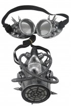 Gas Mask and Goggles Adult Steampunk Costume Accessory_thumb.jpg