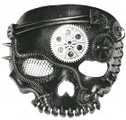 Steampunk No Jaw Skeleton Mask Adult Costume Accessory_thumb.jpg
