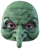 Wicked Witch Women's Halloween Latex Half Face Mask_thumb.jpg
