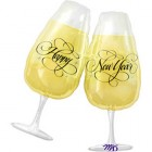 Shape Happy New Year Champagne Glasses Foil Balloon_thumb.jpg