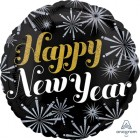 Happy New Year Pizzazz Holographic 45cm Foil Balloon_thumb.jpg