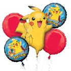 Pokemon Pikachu Balloon Bouquet Pack of 5_thumb.jpg