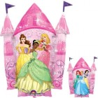 Shape Disney Princesses Castle 2 Sided Foil Balloon_thumb.jpg