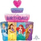 Shape Disney Princesses Happy Birthday Cake Foil Balloon_thumb.jpg