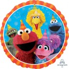 Sesame Street Group Design 45cm Foil Balloon_thumb.jpg