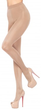 Opaque Sheer Waist Beige Tights Adult Costume Accessory_thumb.jpg