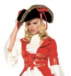 Black Pirate Hat with Ribbons Women's Costume Accessory_thumb.jpg