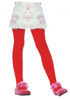 Child Tights Pantyhose Costume Accessory Red_thumb.jpg