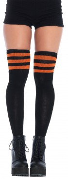 3 Stripes Athletic Ribbed Thigh Highs Adult Costume Accessory_thumb.jpg