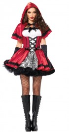 Gothic Red Riding Hood Adult Costume XL_thumb.jpg