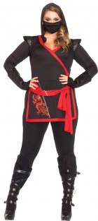 Ninja Assassin Black Adult Plus Costume_thumb.jpg