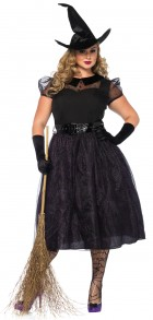 Witch Darling Spellcaster Adult Plus Costume_thumb.jpg