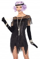 Flapper Foxtrot Flirt Black Adult Costume_thumb.jpg
