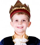 Child Red Crown Renaissance King Costume Accessory_thumb.jpg
