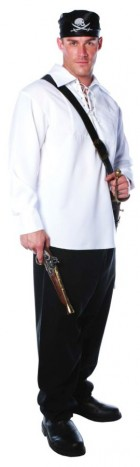 White Classic Pirate Shirt  Adult Costume Plus Size_thumb.jpg