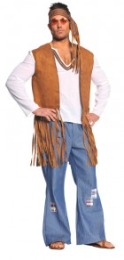 60's Hippie Right On Adult Costume One Size_thumb.jpg