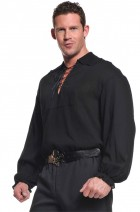 Black Pirate Shirt Plus Size Adult Costume XXL_thumb.jpg