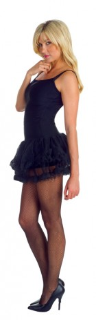 Petticoat Tutu Dress Black Adult Women's Costume_thumb.jpg