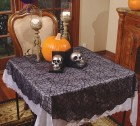 Lace Spider Web Tablecloth Round Halloween Decoration_thumb.jpg