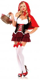 Cute Red Riding Hood Adult Costume