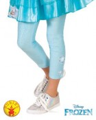 Frozen Elsa Child Footless Tights