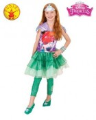 The Little Mermaid Ariel Hooded Dress Child Costume 9-11