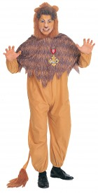 The Wizard of Oz Cowardly Lion Adult Costume Standard