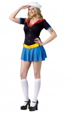 Popeye Sexy Ladies Adult Costume