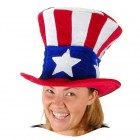 Deluxe Adult's USA Uncle Sam Hat Costume Accessory