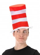 Dr Seuss Cat in The Hat Top Hat Costume Accessory