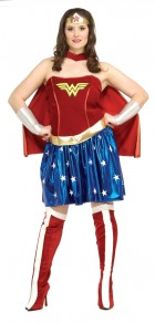 Wonder Woman Adult Plus Women's Costume
