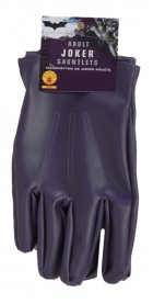 Batman The Joker Gloves The Dark Knight Men's Costume Accessory