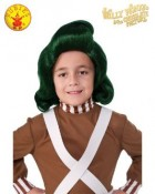 Willy Wonka and the Chocolate Factory Oompa Loompa Child Wig