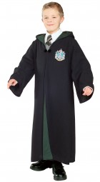 Harry Potter Deluxe Slytherin Robe Child Costume