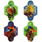 Jurassic World Blowouts With Medallions Pack of 8