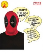 Deadpool Deluxe Adult Mask With Speech Bubble