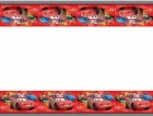 Disney Cars 2 Plastic Tablecover