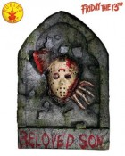 Friday the 13th Jason Tombstone Prop