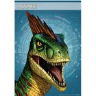 Jurassic World Plastic Loot Bags Pack of 8