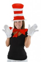 The Cat in the Hat Dr. Seuss Adult Costume Accessory Kit