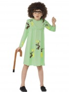Roald Dahl The Twits Mrs. Twit Child Costume