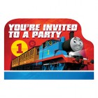 Thomas the Tank Engine All Aboard You're Invited Invitations Pack of 8