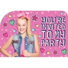JoJo Siwa You're Invited to My Party Invitations Pack of 8