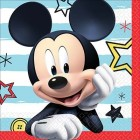 Mickey Mouse on the Go Beverage Napkins Pack of 16