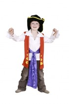The Wiggles Captain Feathersword Toddler Costume Dress Up Set