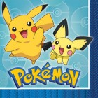 Pokemon Core 2 Ply Luncheon Napkins Pack of 16