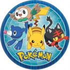 Pokemon Core Round Paper Dinner Plates Pack of 8