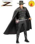 Zorro Deluxe Muscle Chest Adult Costume