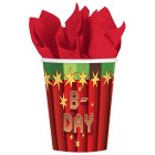 TNT Paper Party Cups Pack of 8